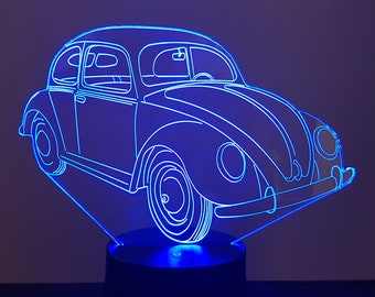 Lamp 3D design: Ladybug Volskwagen