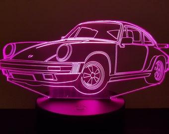 Lamp 3D design: porsche 911