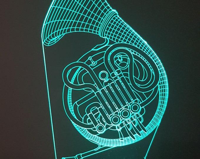 Lamp 3D design: French Horn