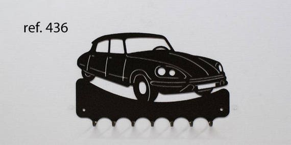 Hangs 26 cm pattern metal keys: Citroen DS