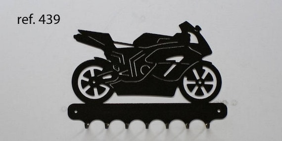Hangs 26 cm pattern metal keys: motorcycle honda road