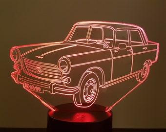 Lamp 3D pattern: Peugeot 404
