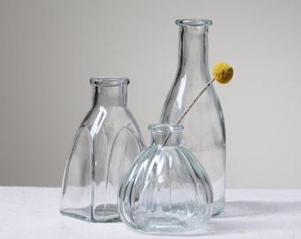 Various Styles Of Retro Mixed Bud Flower Vase Centrepiece   Vintage Wedding Bud Vase Centrepiece   Home & Wedding Vase For Flowers   UK