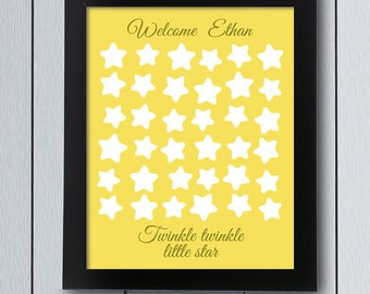space party sign in board printable pdf love you to the etsy
