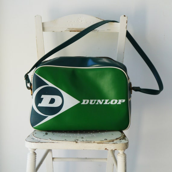 Vintage Green Dunlop Holdall