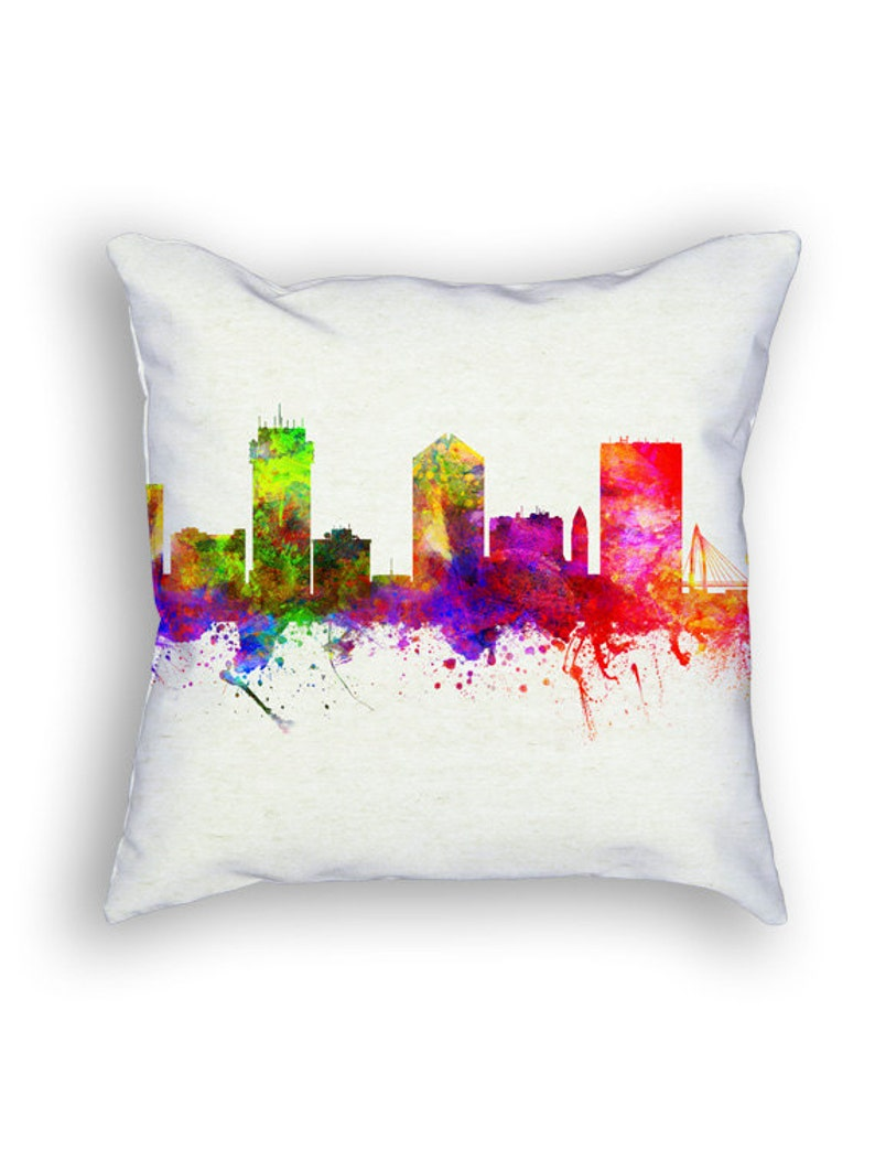 Wichita Kansas Throw Pillow 18x18 Cushion Home Decor Gift Etsy