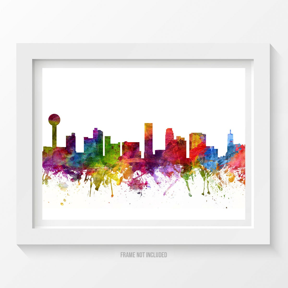 Knoxville Tennessee Skyline Poster Knoxville Cityscape