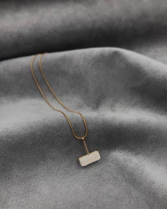 LAZLO necklace -  Riverstone