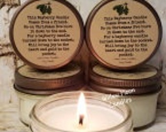 Candle with poem | Etsy