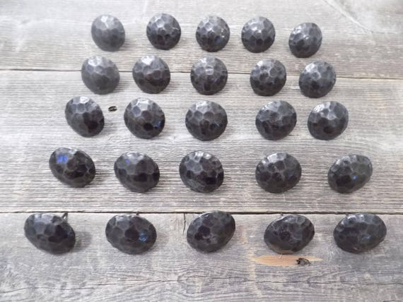 """OIL RUBBED BRONZE TACKS CRAFTS 15 CLAVOS DECORATIVE RUSTIC NAIL HEADS 1.5/"""""""