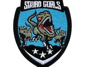 Jurassic Squad Goals Patch