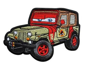 Jurassic Jeep Patch