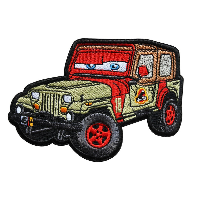Jurassic Jeep 18 Patch image 0
