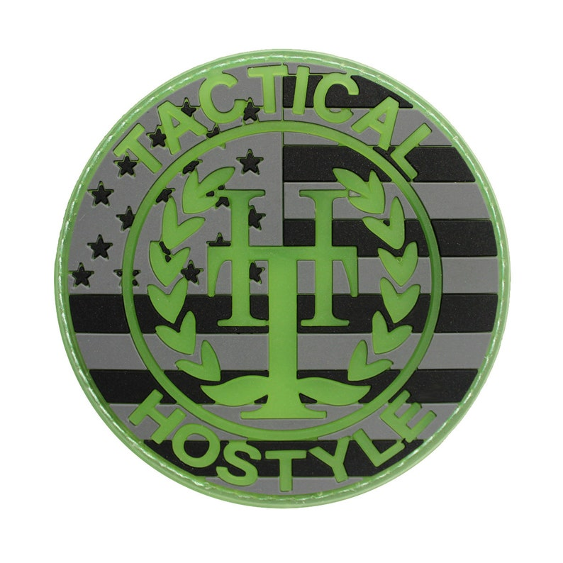 Tactical Hostyle Logo Patch image 0