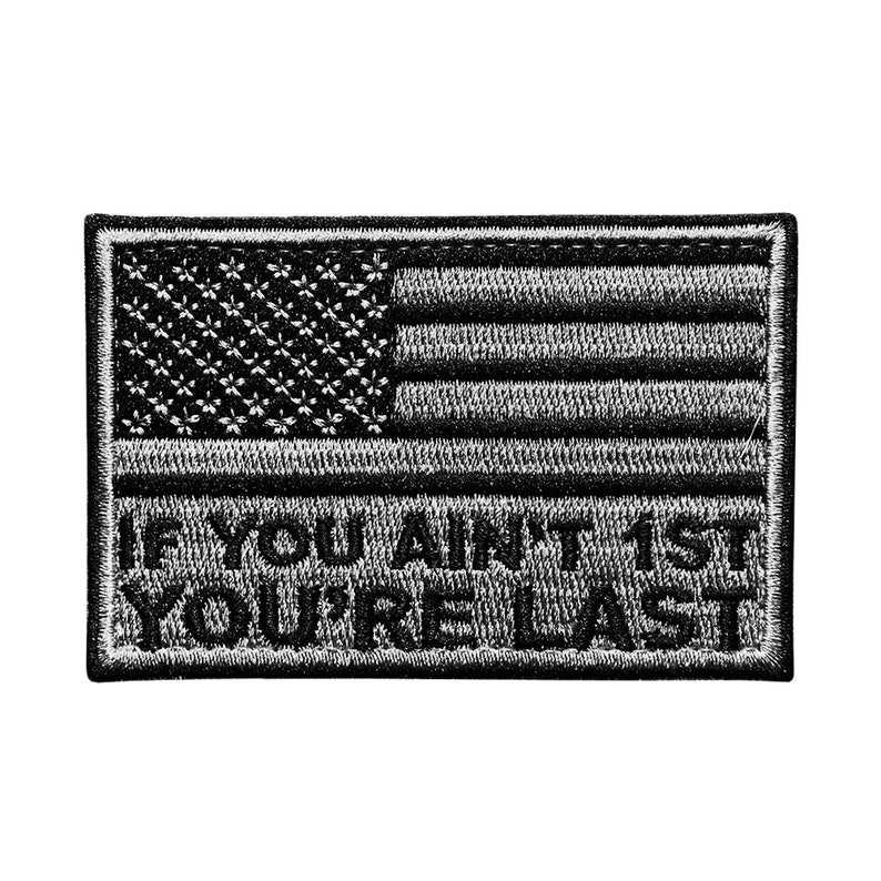 If You Ain't First You're Last Patch image 0