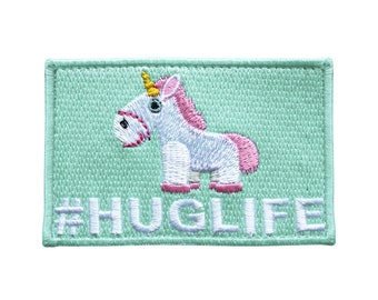 Hug Life Unicorn Patch