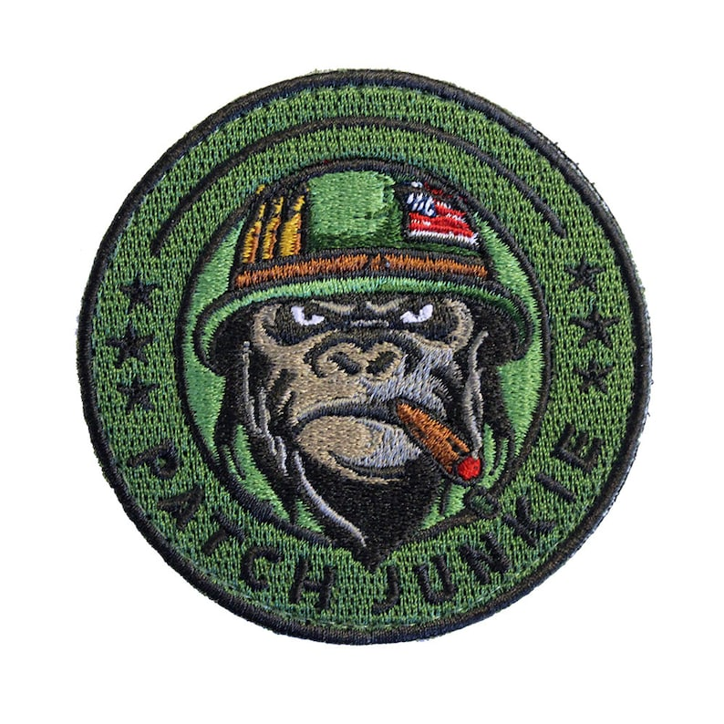 Patch Junkie Logo Patch image 0
