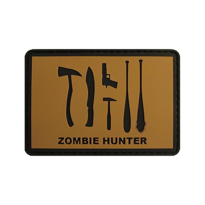 Zombie Hunter PVC Patch image 0