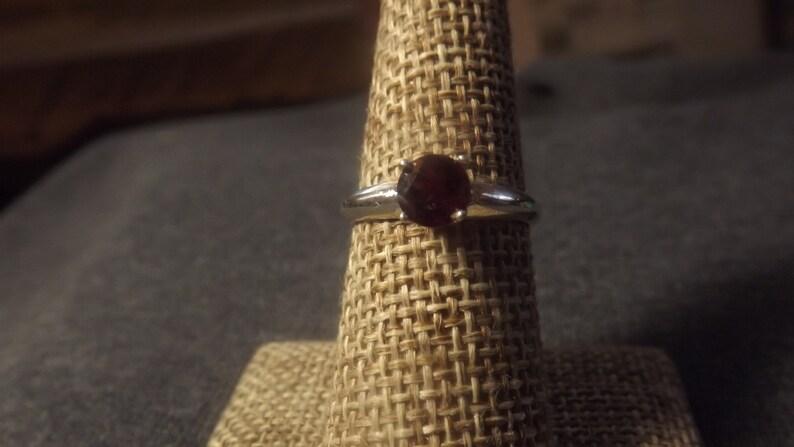 Rhodolite Garnet Jewelry Set