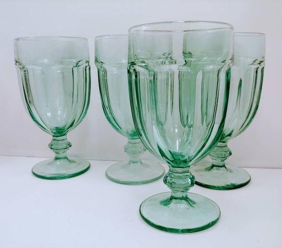Set Of 8 Libbey Glass Company Gibraltar, Libbey Gibraltar Iced Tea Glasses Set Of 12