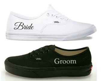 3ea5d28fafddf4 Custom wedding vans