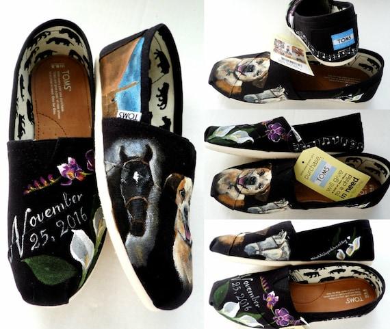Wedding Shoes Pet Lover Horse Dog Personalized Gift  7bac9eafa