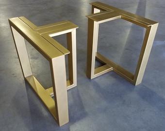 Set of Metal Table Legs (Tribeca)