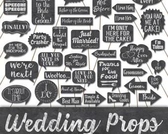 Wedding Photos Props.Wedding Props Etsy