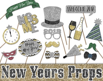 quick view 2018 new years eve photo booth props printable