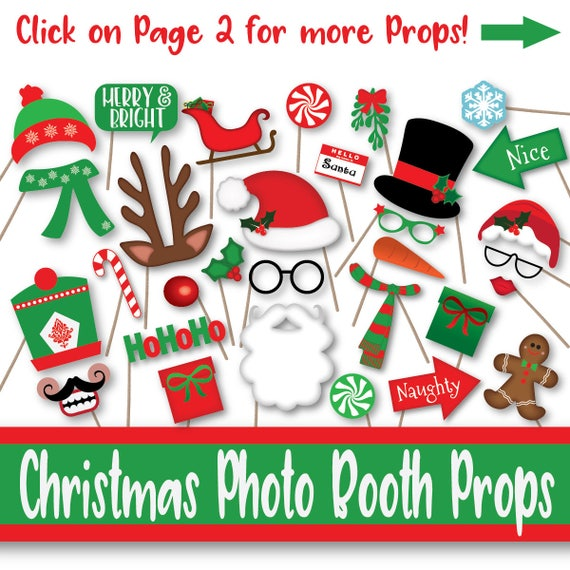 Gutsy image in christmas photo props printable