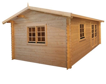 Eureka- Guest house kit, storage shed kit, wooden cabin kit, tiny house kit.