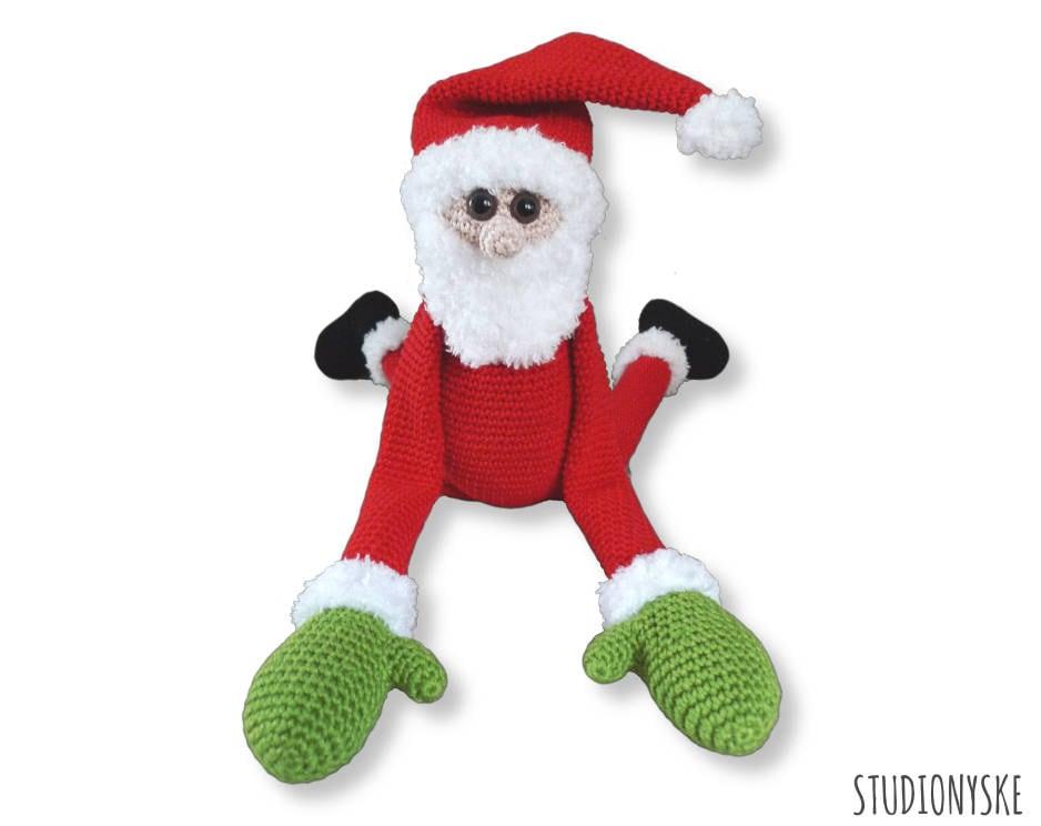 Santa Claus crochet pattern amigurumi doll Christmas PDF | Etsy