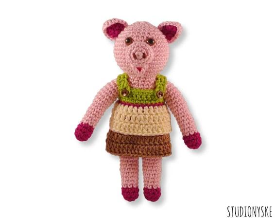 Baby shower gift Toy Crochet Pattern Amigurumi doll newborn monkey with a pacifier wedding favors Tutorials
