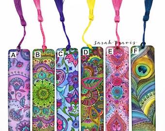 Art Printed Bookmark - Choose Your Design