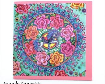 Carousel Greetings Card