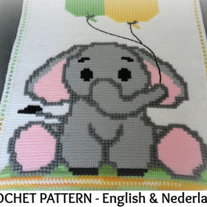 English there was a Special Year US Terms Dutch Crochet Pattern Keepsake Blanket  Temperature Blanket Once Upon a Time\u2026\u2026