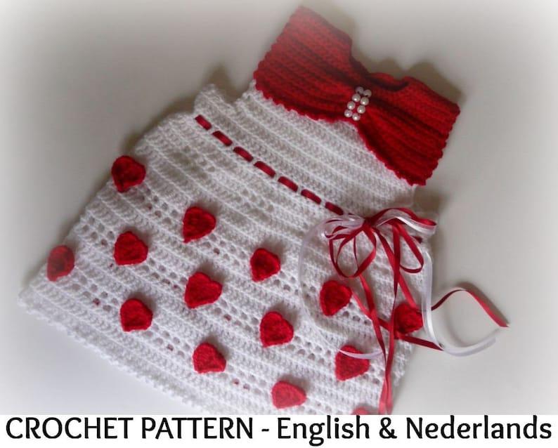 608d678e74d3 English Dutch Crochet Pattern Baby   Toddler Dress Free