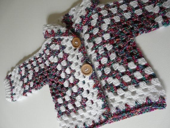 Engels Nederlands Haakpatroon Baby Vest Met Capuchon Hexagon Etsy