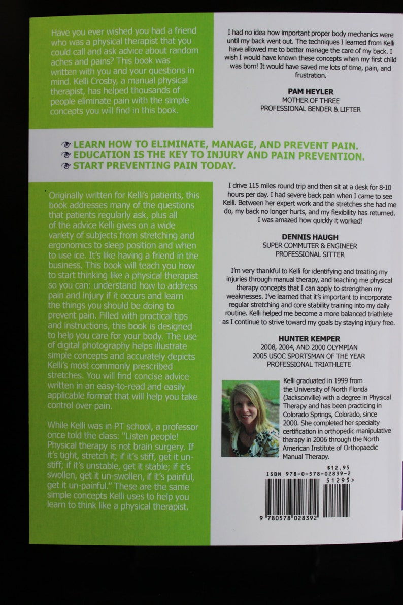 Self-published book: How to Think Like a Physical Therapist, in your  everyday life