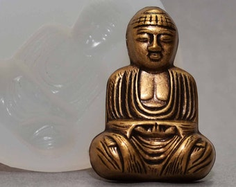 Buddha Plaster Mould//Mold//Moulds//Molds 2234