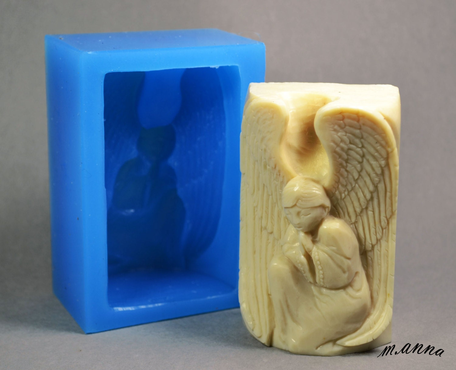 Angel Silicone Mould Soap Making Soap Bar Mold Cherub Etsy