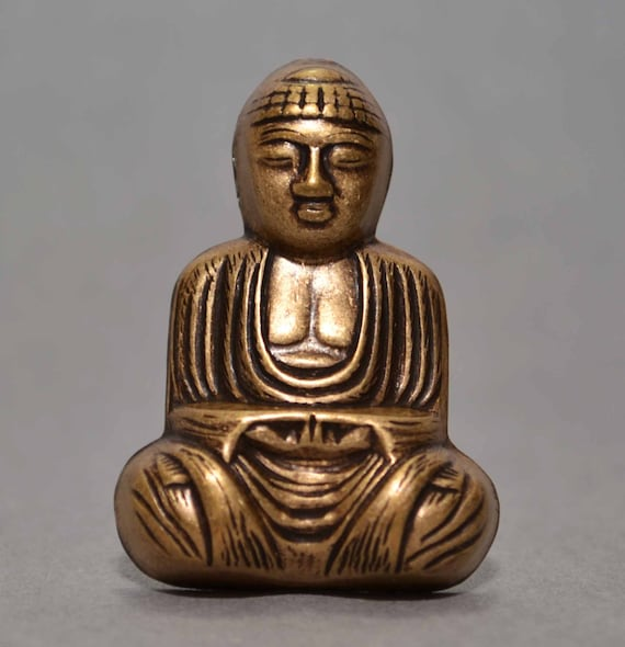 BUDDHA food use resin fimo plaster wax soap clay mold SILICONE MOULD