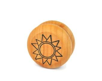 Wooden Sun Yo Yo - A Waldorf and Montessori Inspired Classic Toy (K)