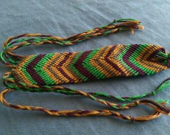 Earthy Friendship Bracelet