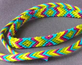 Handmade Vibrant Friendship Necklace