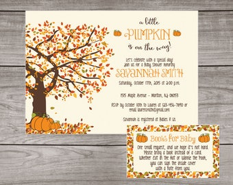 Fall baby shower invitations etsy fall baby shower invitations printed invitations little pumpkin baby shower invitation a little pumpkin is on the way 191 filmwisefo