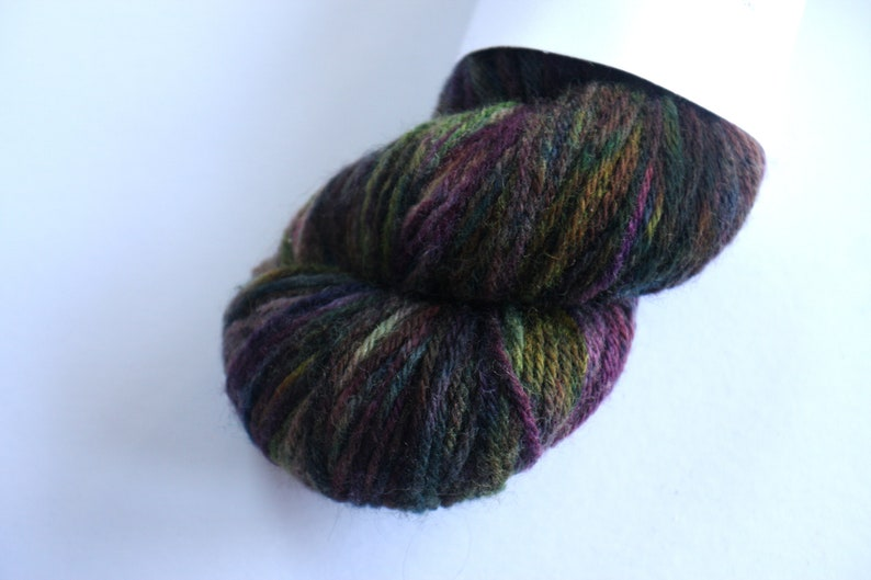 Aran  100% British Bluefaced Leicester superwash yarn  image 0
