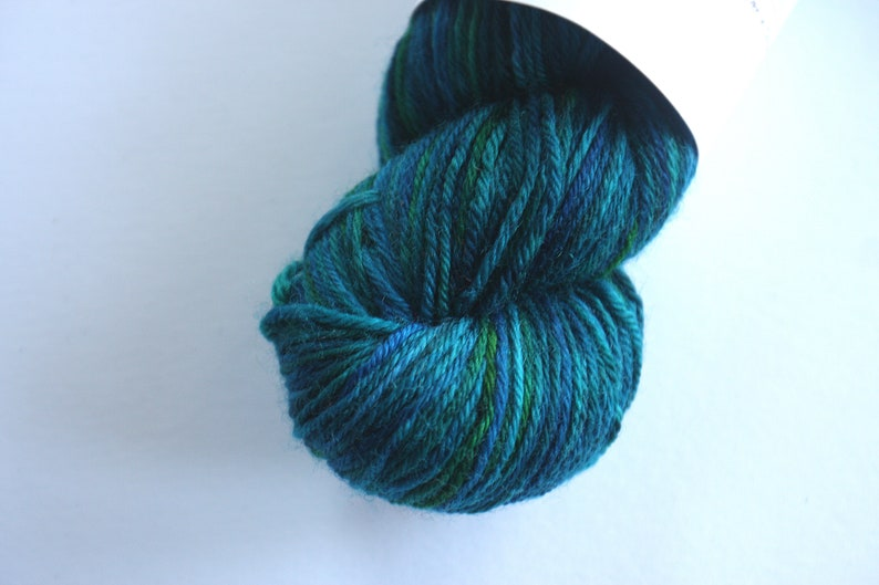DK  100% British Bluefaced Leicester superwash yarn  image 0