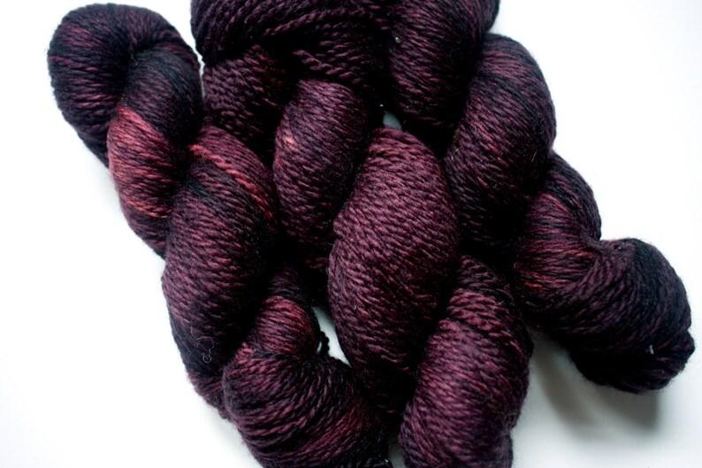 Aran  100% British Bluefaced Leicester superwash yarn image 0