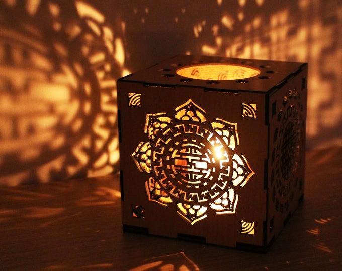 Featured listing image: Chinese style Lantern hardboard